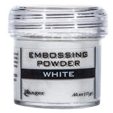 White Embossing Powder